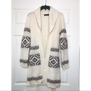 VS/Moda Int'l Mohair Fairisle Sweatercoat